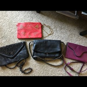 Clutches: set of 4